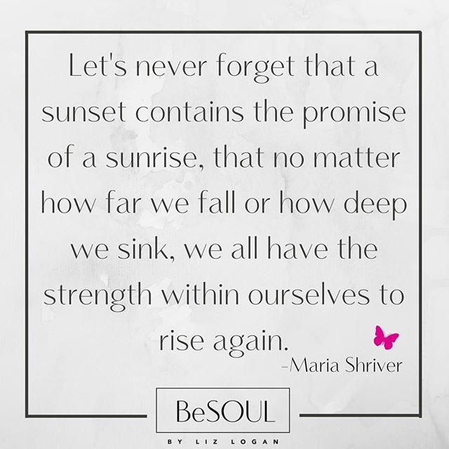 Inspired by my last night's meeting of Maria Shriver in Aspen, I thought we could all use a little of her wisdom! 💓Enjoy your beautiful holiday weekend and don't forget the promise of every sunset! ☀️ #liveyourlight #believeinpossibilities #mariashriver #ivebeenthinking #togetherwerise #riseupwomanandshine