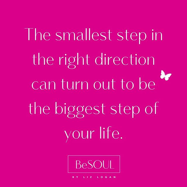 Do not underestimate the power of the small steps in your life.  They really do add up to the big steps in your life.  Before you can run, you must first learn how to walk. 🌸💓 #takebabysteps #liveyourlight #bepresent #besoulliving