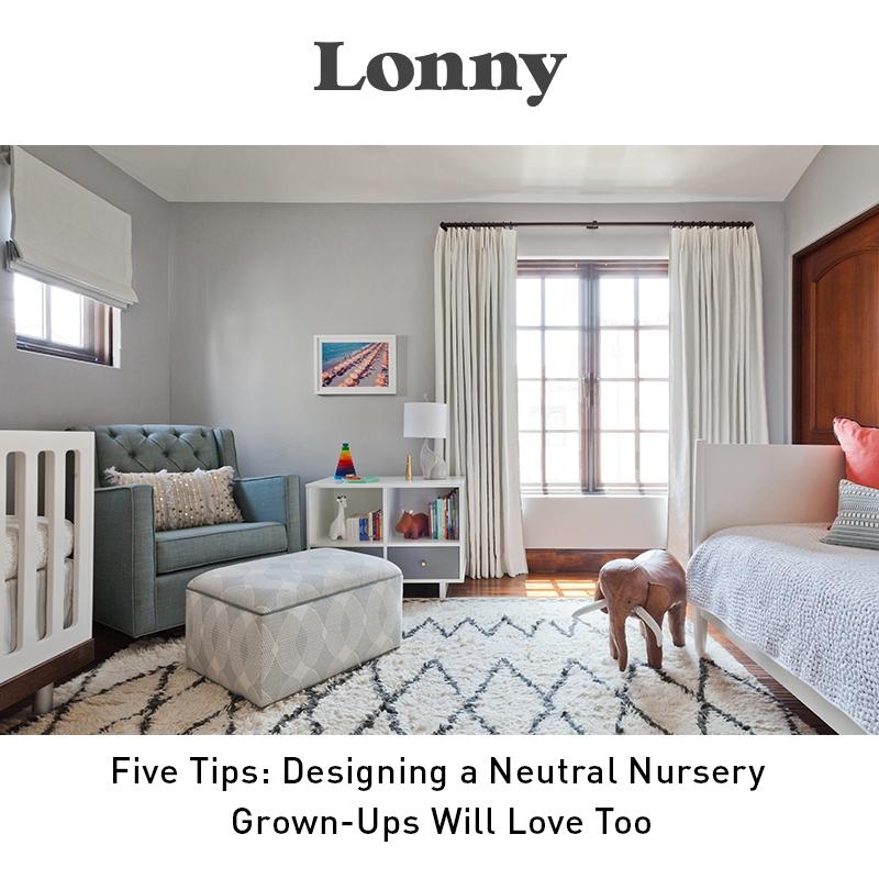 Lonny - Five Tips