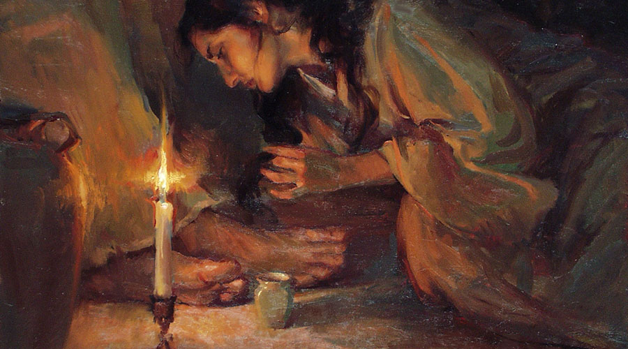 """""""Forgiven"""" by Daniel Gerhartz (1965). Used with artist's permission."""