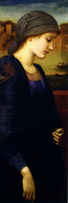 Flamma Vestalis  (1896) ~Sir Edward Coley Burne-Jones