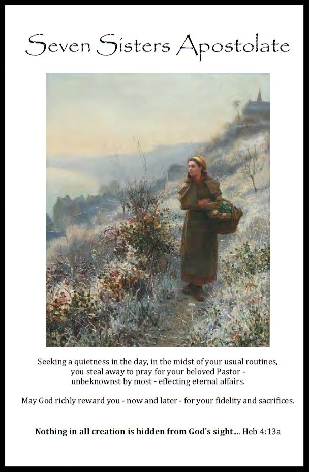 Prayers & Booklet — Seven Sisters Apostolate