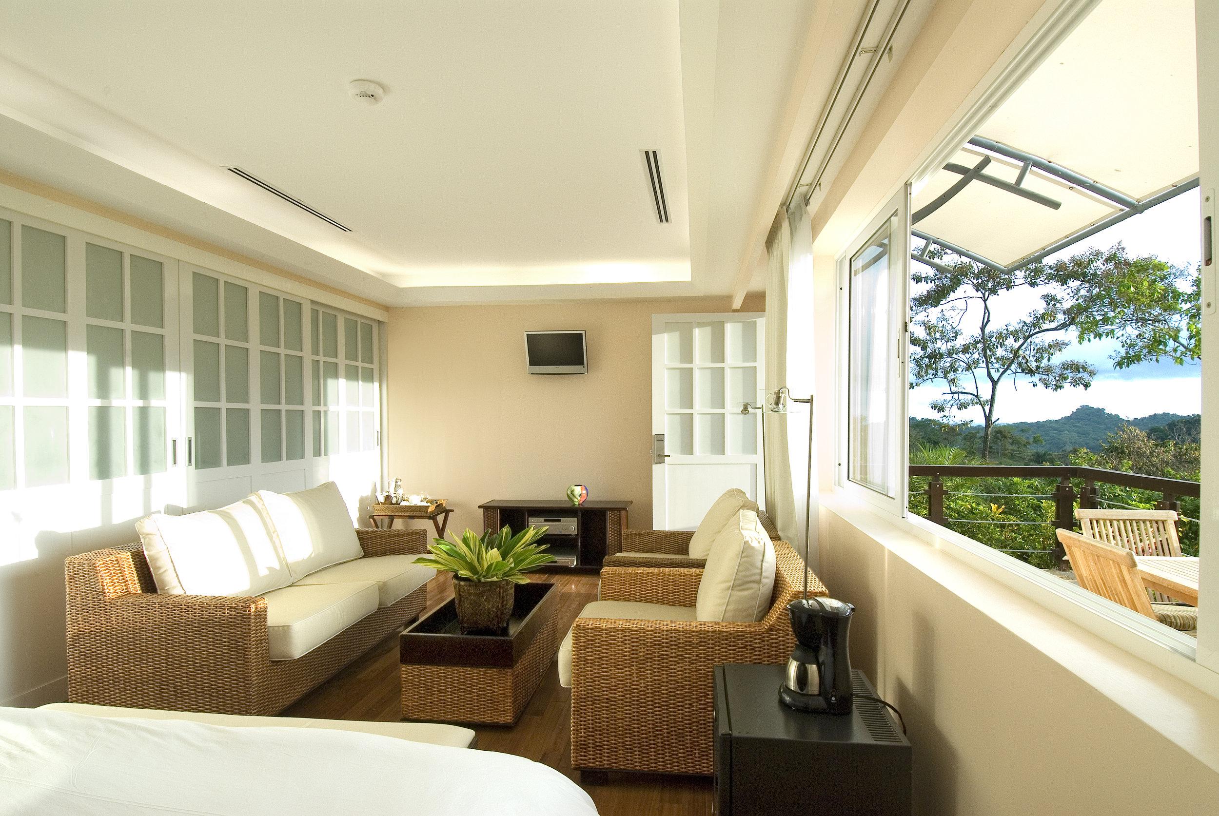 Gaia Hotel & Reserve Studio Suite Room.