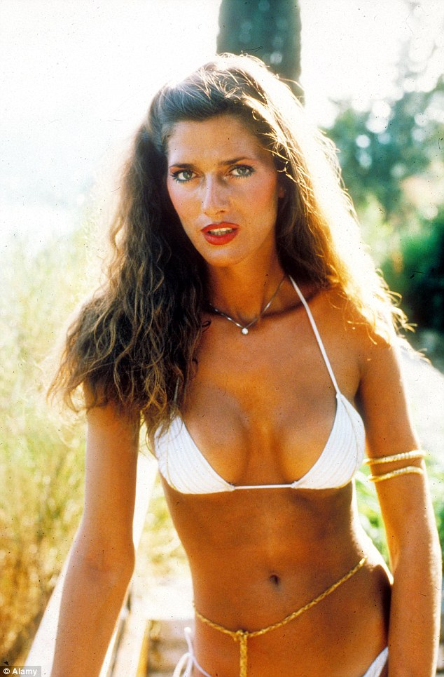 Caroline Cossey in Playboy before her gender history was shared without her consent.