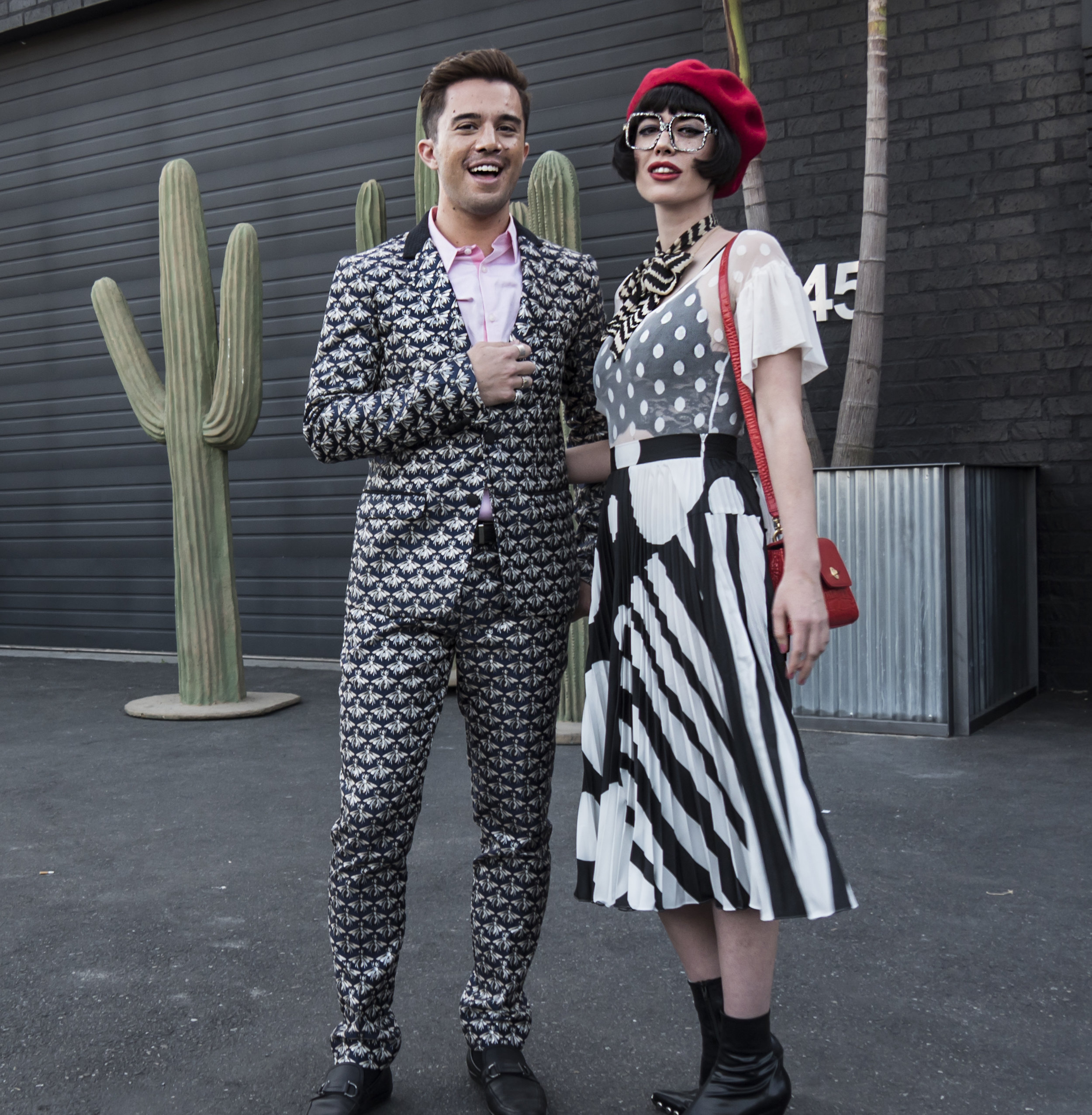 With influencer  Amy Roiland . Photo by  Vector Film Productions .