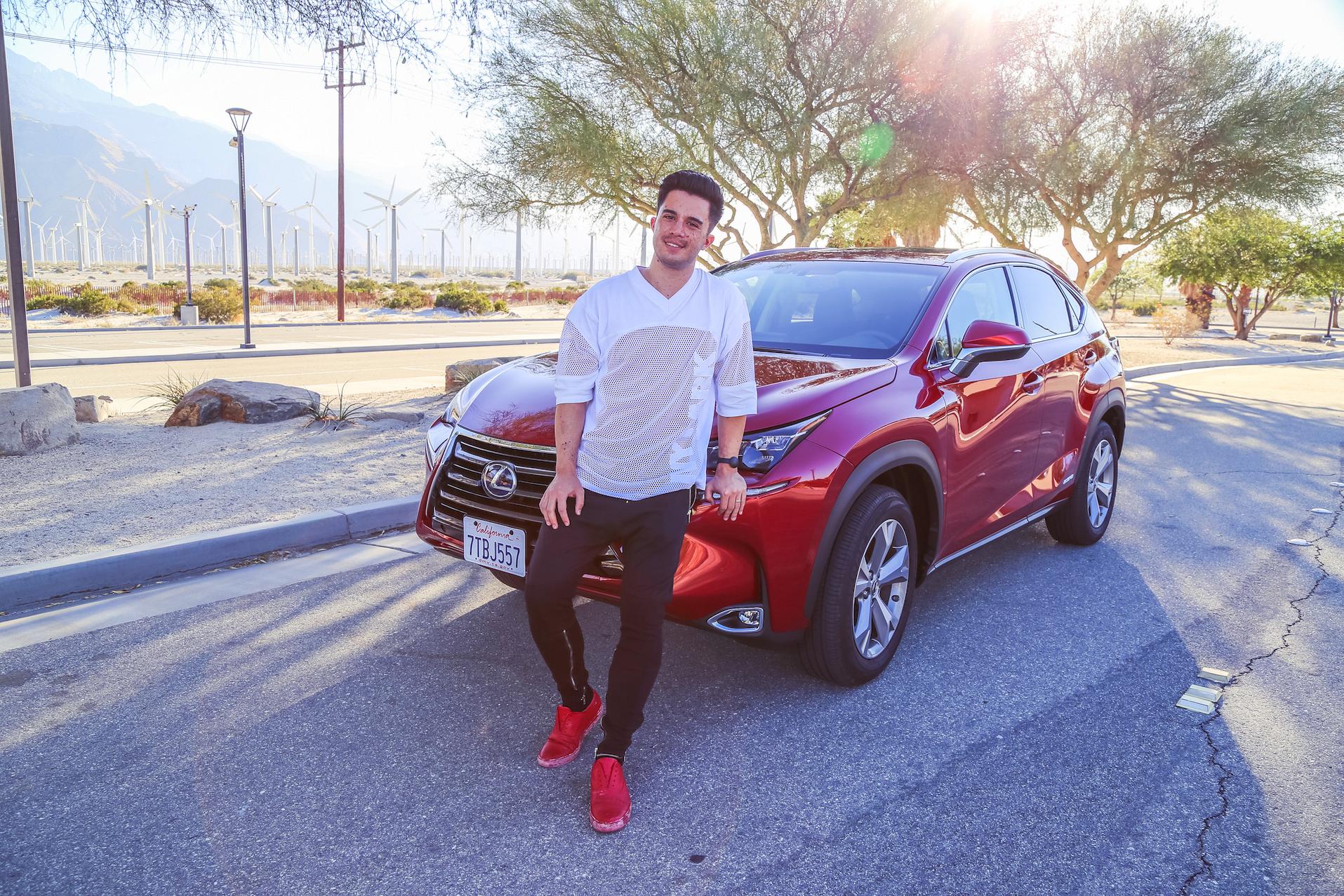 Lexus photo op