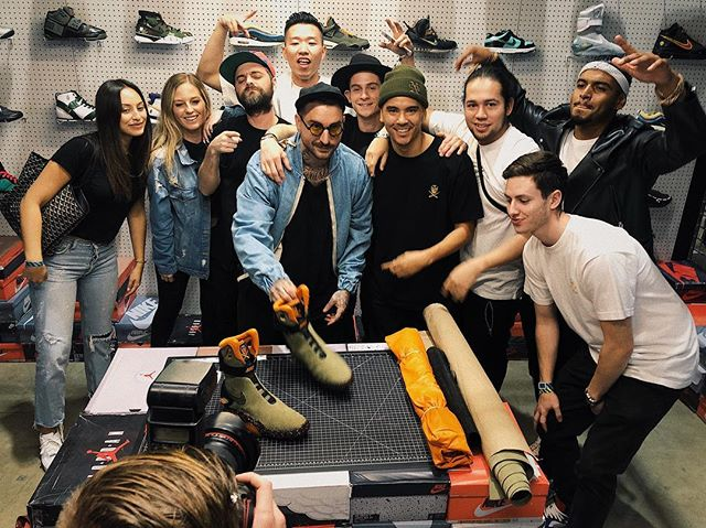 How blessed am I to be inspired and learn from this amazing team daily.. Only God knows. #complexcon