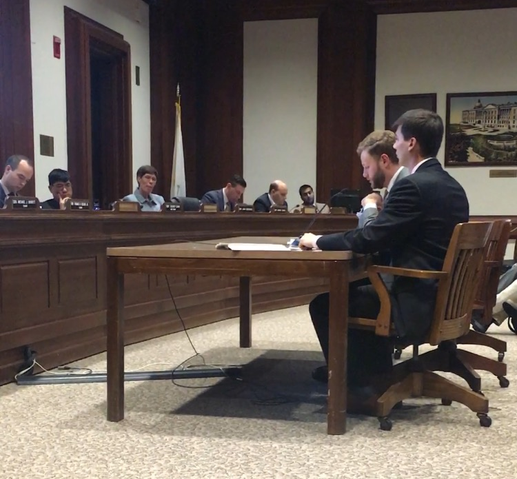 Senator Julian Cyr and representative dylan Fernandes testify on behalf of Community Empowerment - May 2017