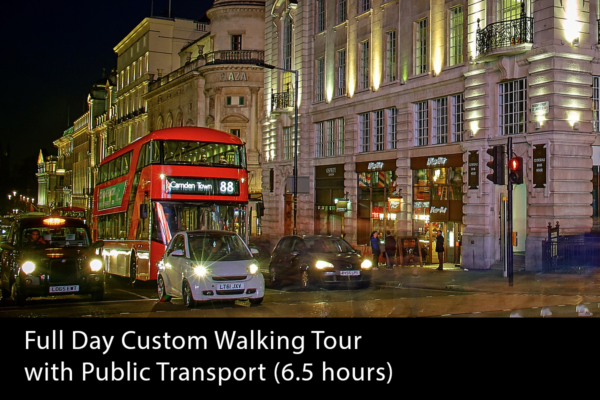 London Full Day Private Walking Tour (6.5 hour) - From £390