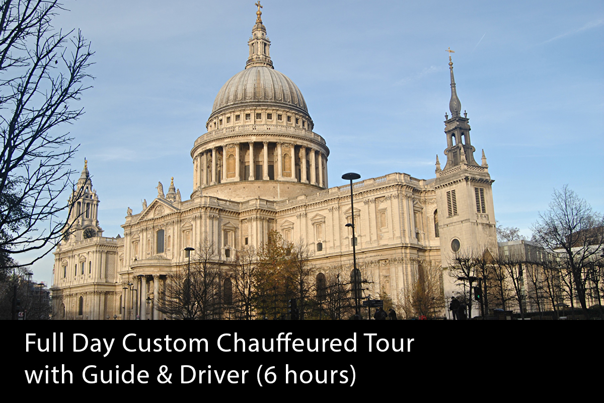 Full Day Chauffeured London Tour (6 hours) -   From £660