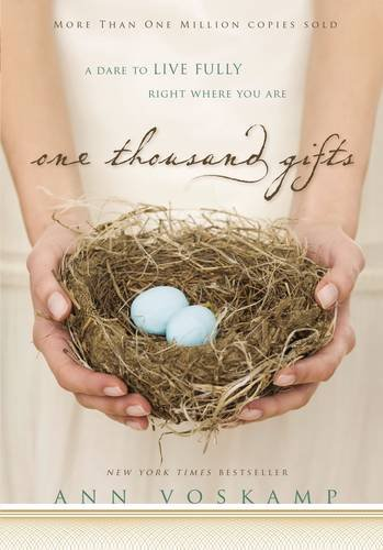 """one thousand gifts""    $13.94"
