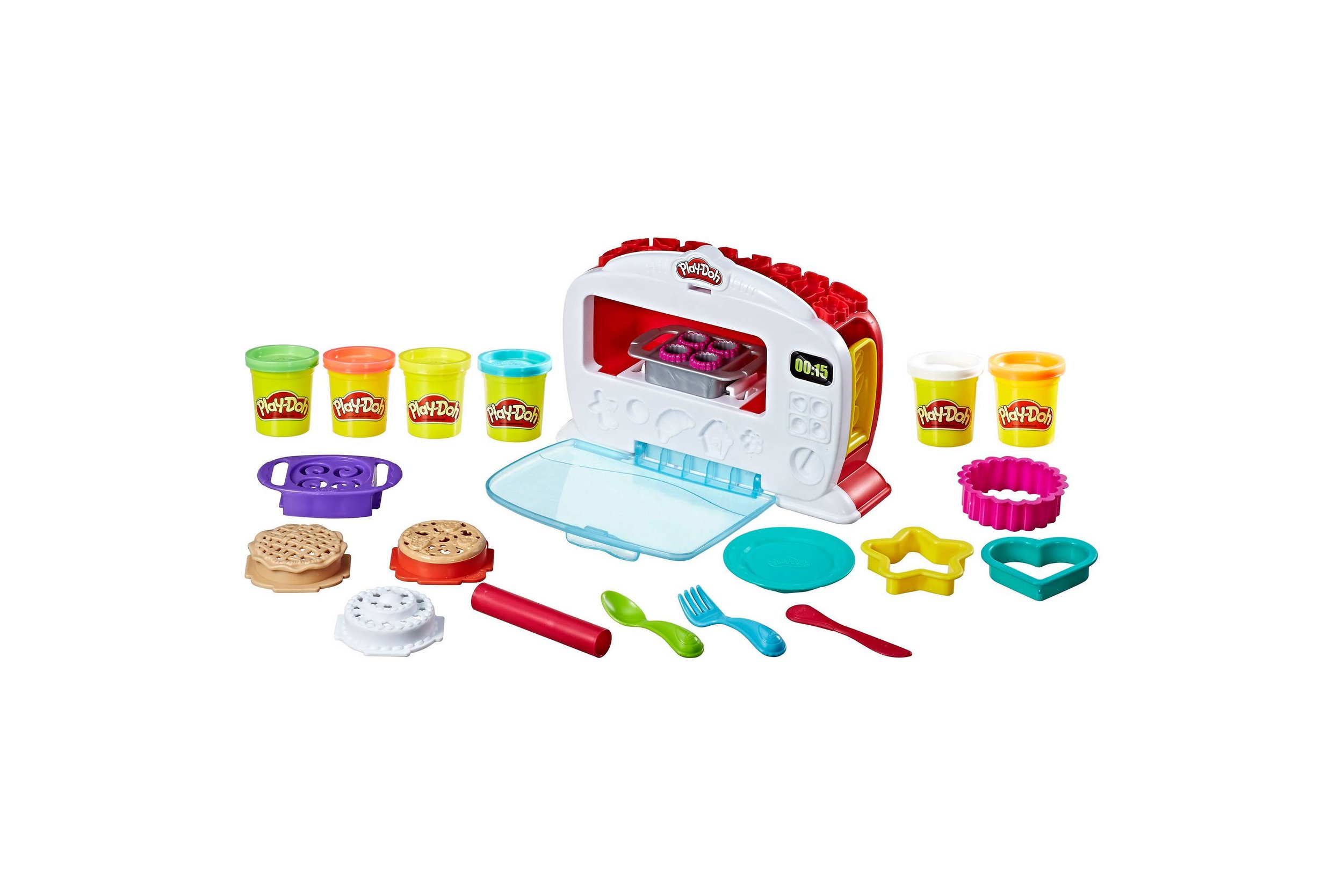PLAY-DOH KITCHEN... - because they can start cooking before they're allowed to start cooking