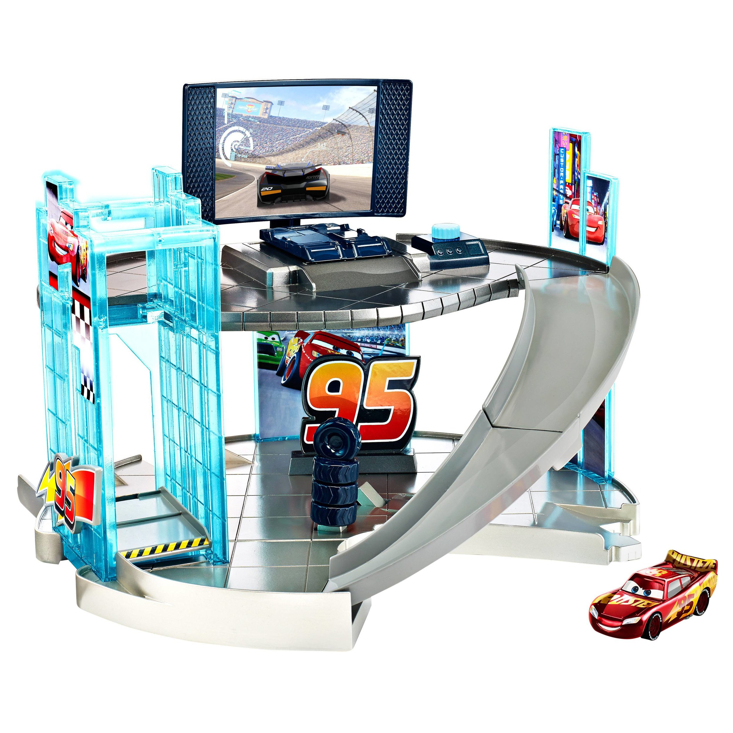 RACING CENTER... - because they love to race and they need a home base