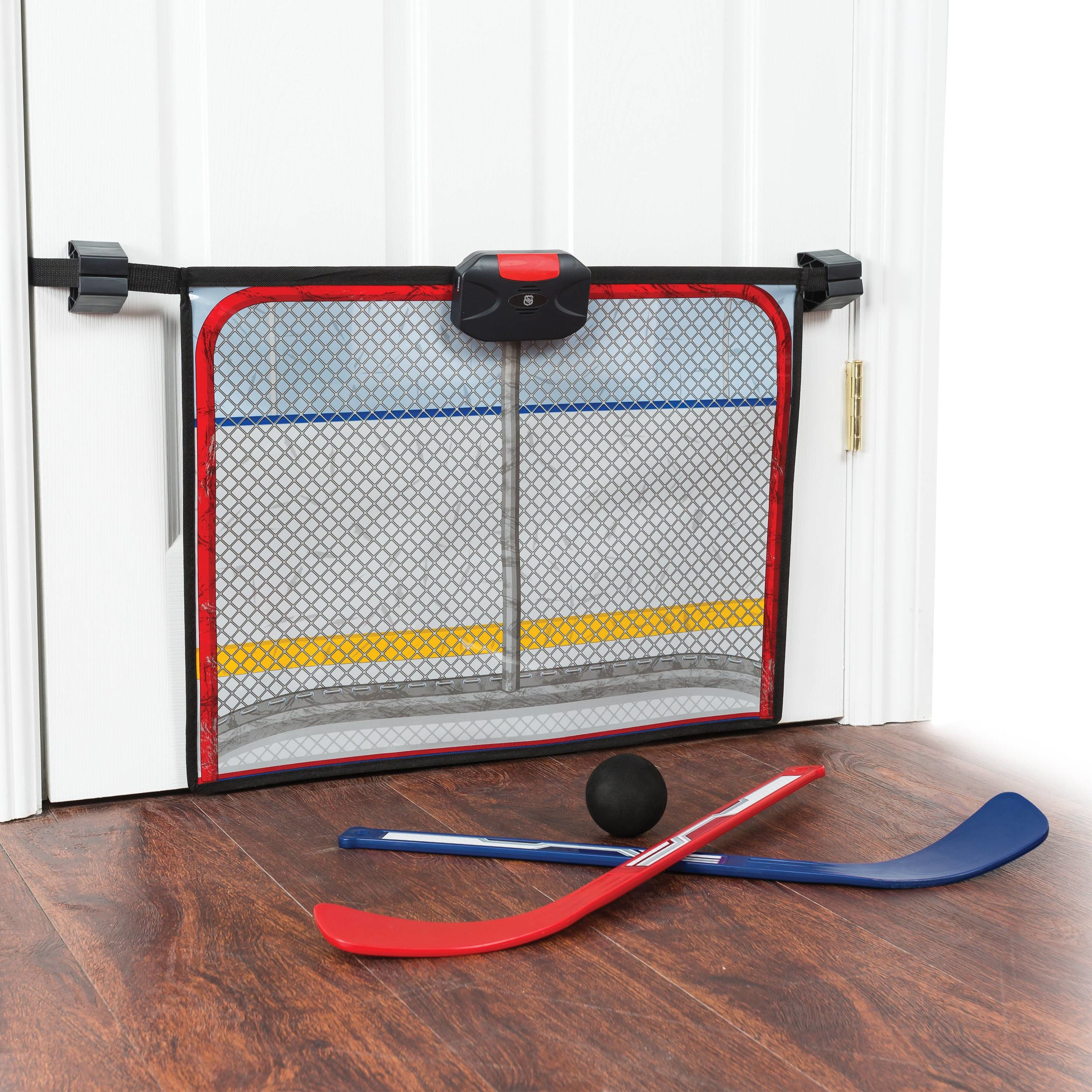 HOCKEY GAME... - because you can introduce them to different sports