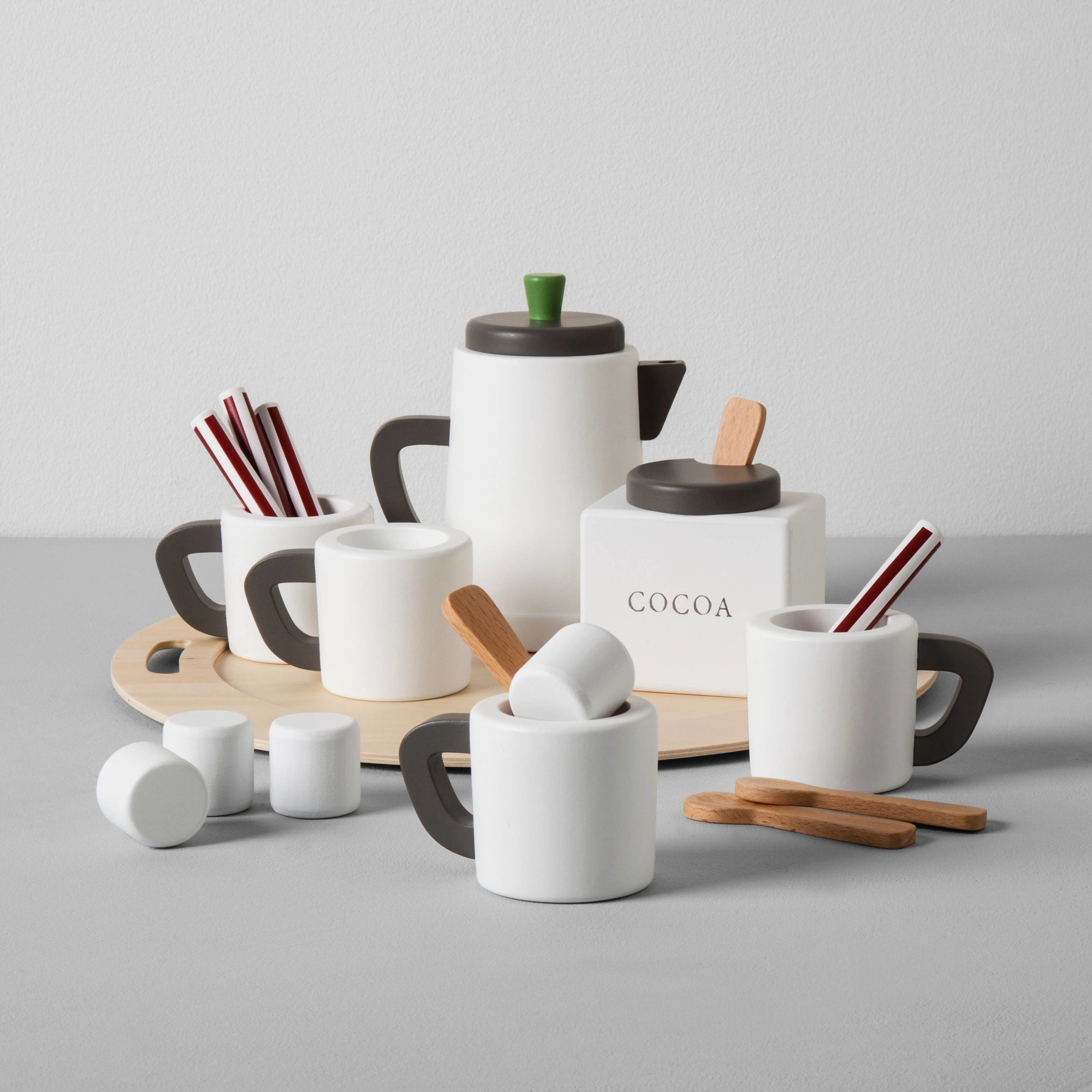 COCOA SET... - because they love cocoa and they would love to make it for everyone