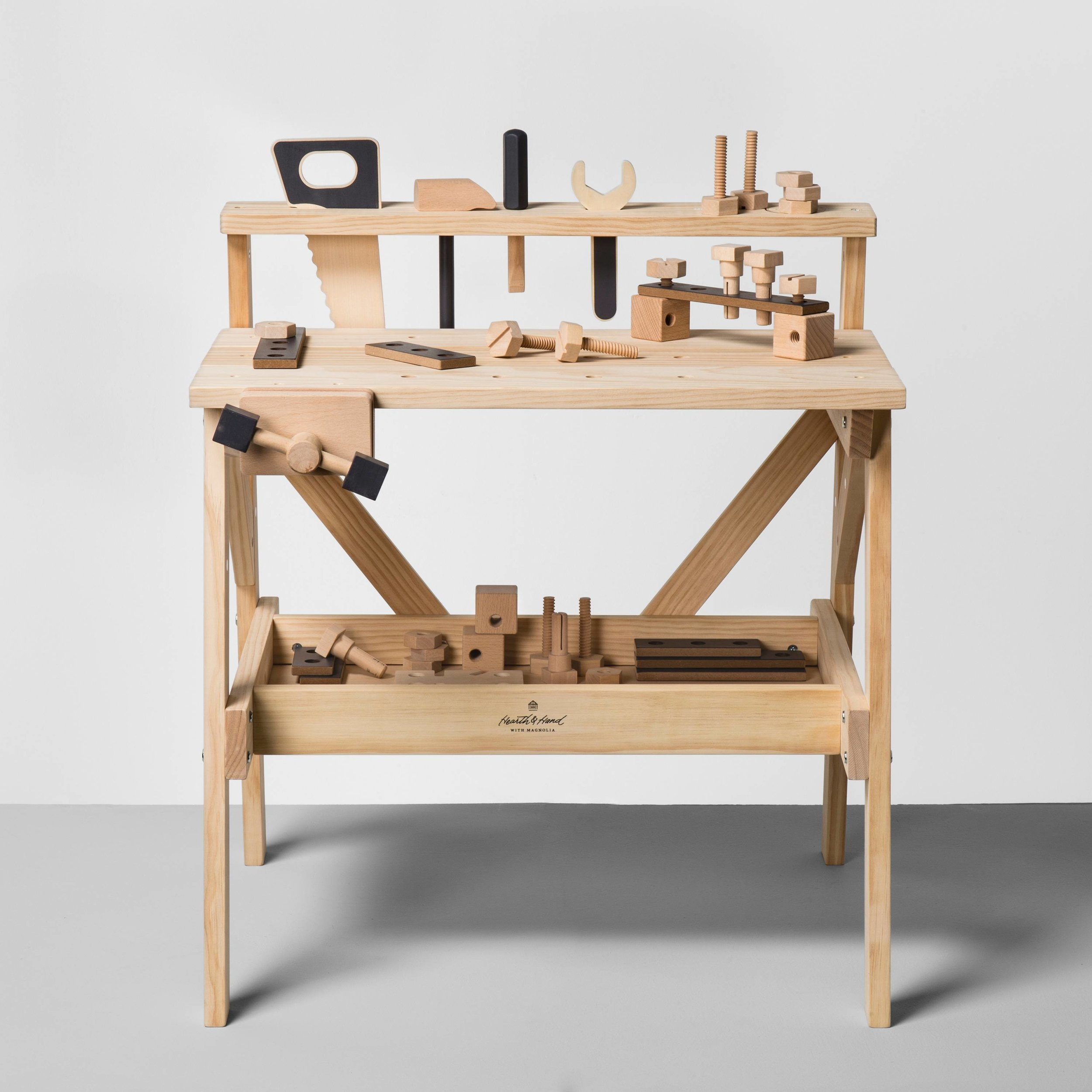 TOOL BENCH... - because they love to help, so why not give them their own workspace