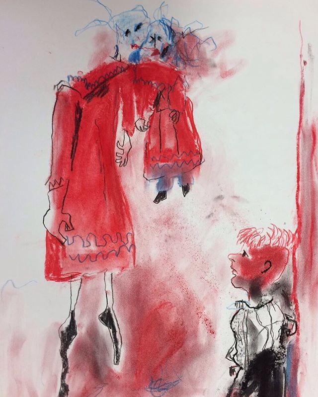 Innnnncredible day yesterday @jerwoodgallery at our #paularego workshop- we had so much fun in and out of the sun. A massive thank you to those that came and made such imaginative and colourful work. (Spot the apocalyptic Hastings' pieces and Rego's characters hanging out at a Hastings shelter-brilliant!) We hope to back in the new year  #drawing #artsed #workshop #ldg #londondrawinggroup #art #rego #imagination #pastel #pencil #ink #graphite #crayon