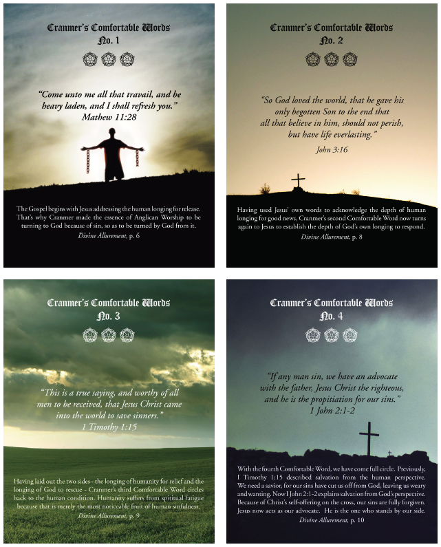 Cranmer's Comfortable Words Posters