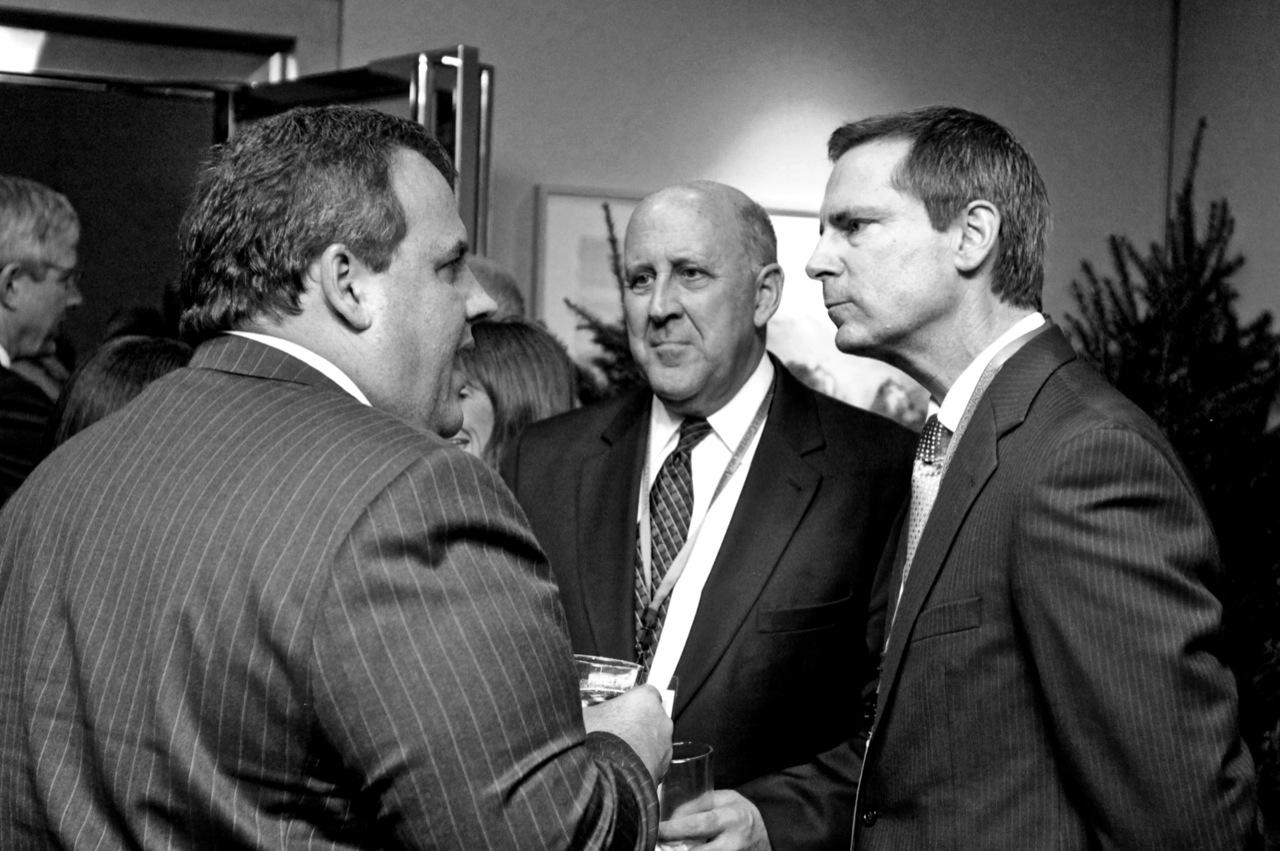 New Jersey Governor Chris Christie and Ontario Premier Dalton McGuinty
