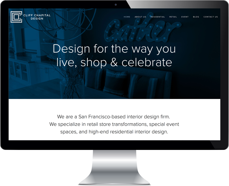 Home page at  CliffChapitalDesign.com