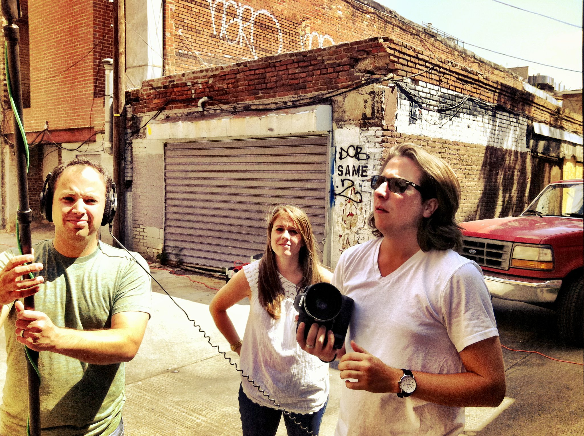 Part of the Influential team filming a commercial. (©2011 Justin Schuck. All rights reserved.)