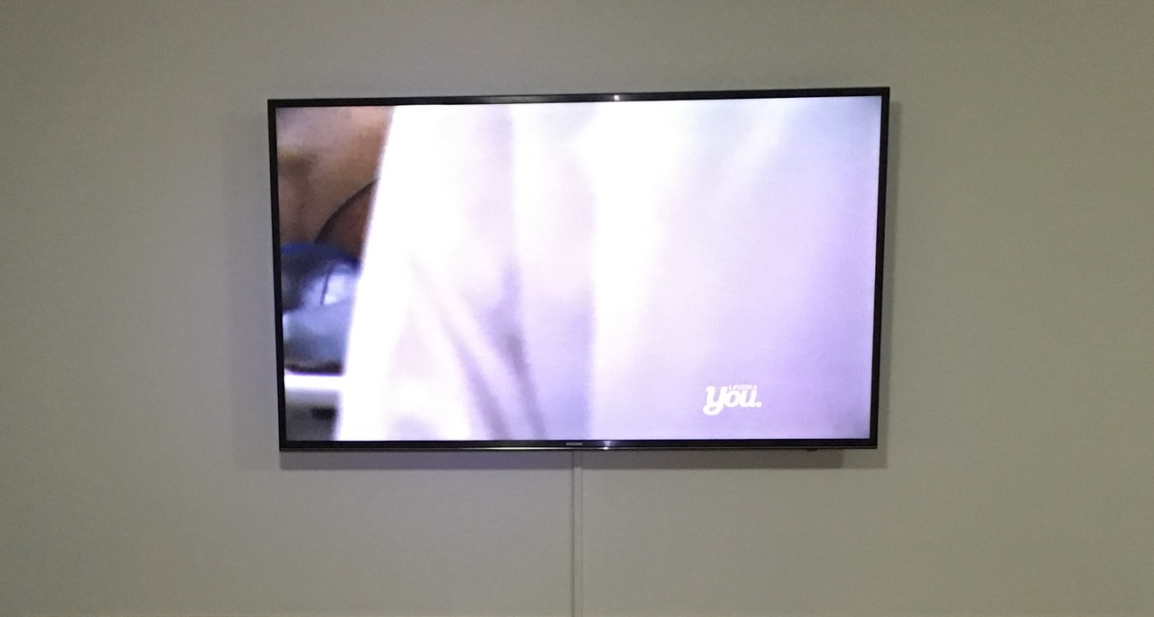 TV mounted to a wall in a home in Toowoomba