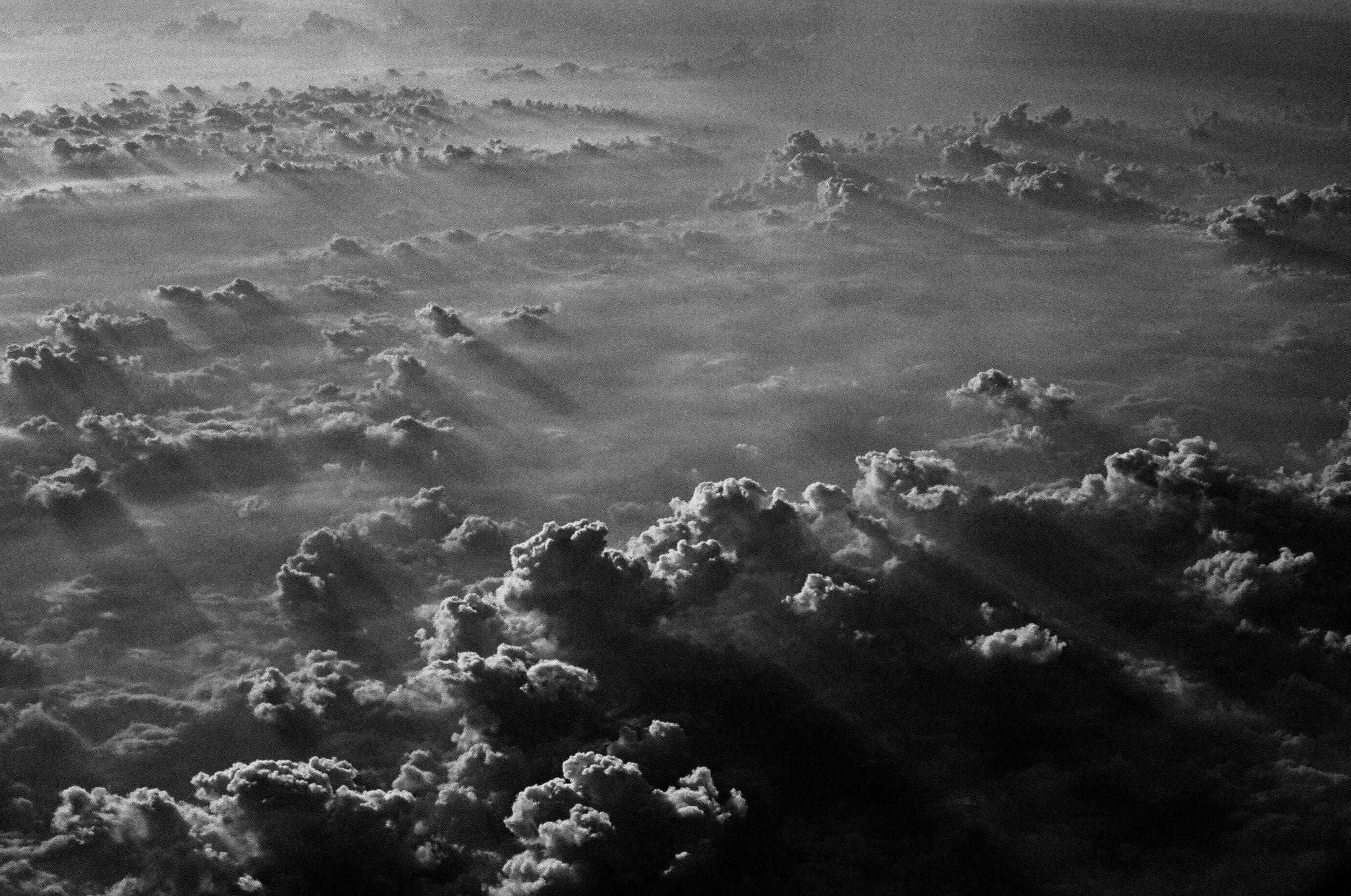 Cloud in Black & White