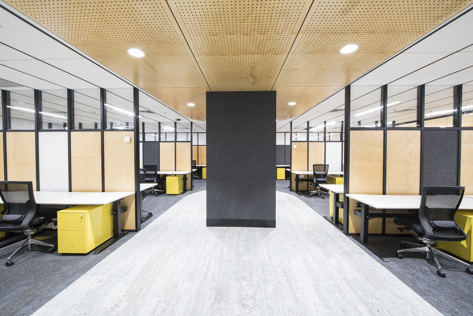 RMIT DSC Consolidation Office Refurbishment