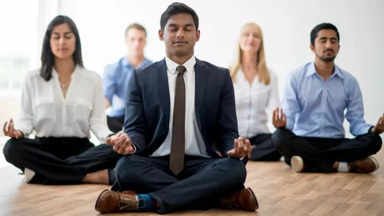Meditation Boosts Company Performance -