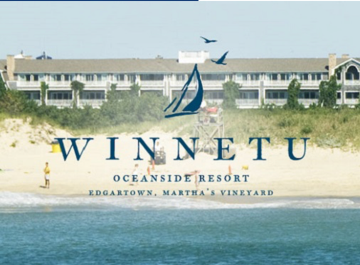 "Winnetu Oceanfront Resort (Edgartown) :  866-335-1133     CLICK HERE    to check availability or call for rates   The Winnetu Oceanside Resort, which includes the Winnetu Hotel and surrounding Mattakesett Properties' private home rentals, is located where everyone visiting Martha's Vineyard wants to be… at South Beach in Edgartown. ""The Vineyard"" is New England's largest island – consisting of six towns with plenty to do – everything from shopping to dining to spectacular beaches, bicycle paths and sightseeing activities."
