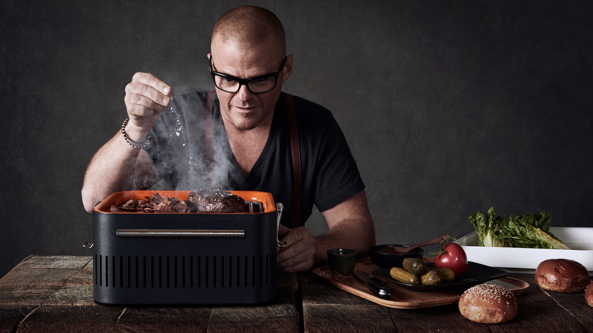 Everdure by Heston Blumenthal Portable Charcoal Barbeque