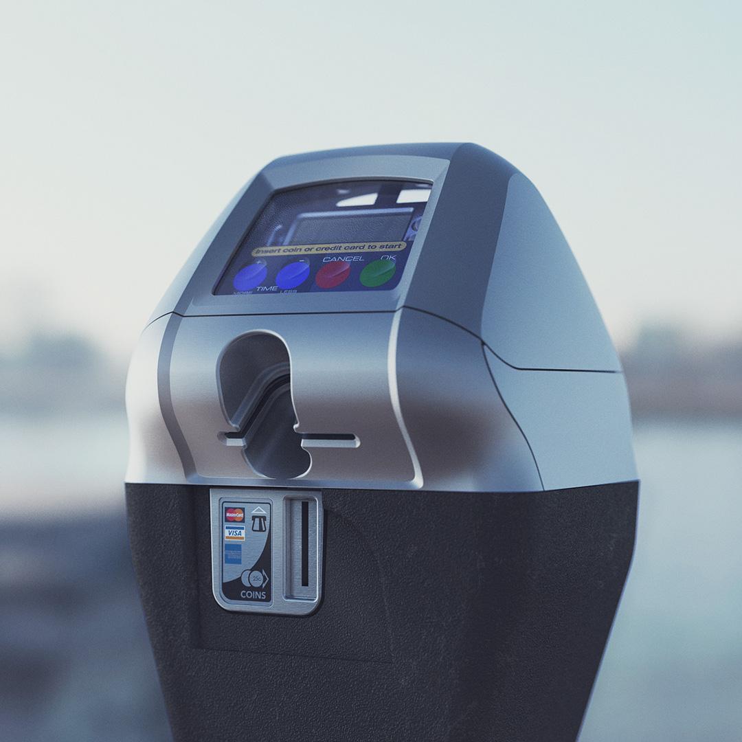 IPS Group - single bay parking meter