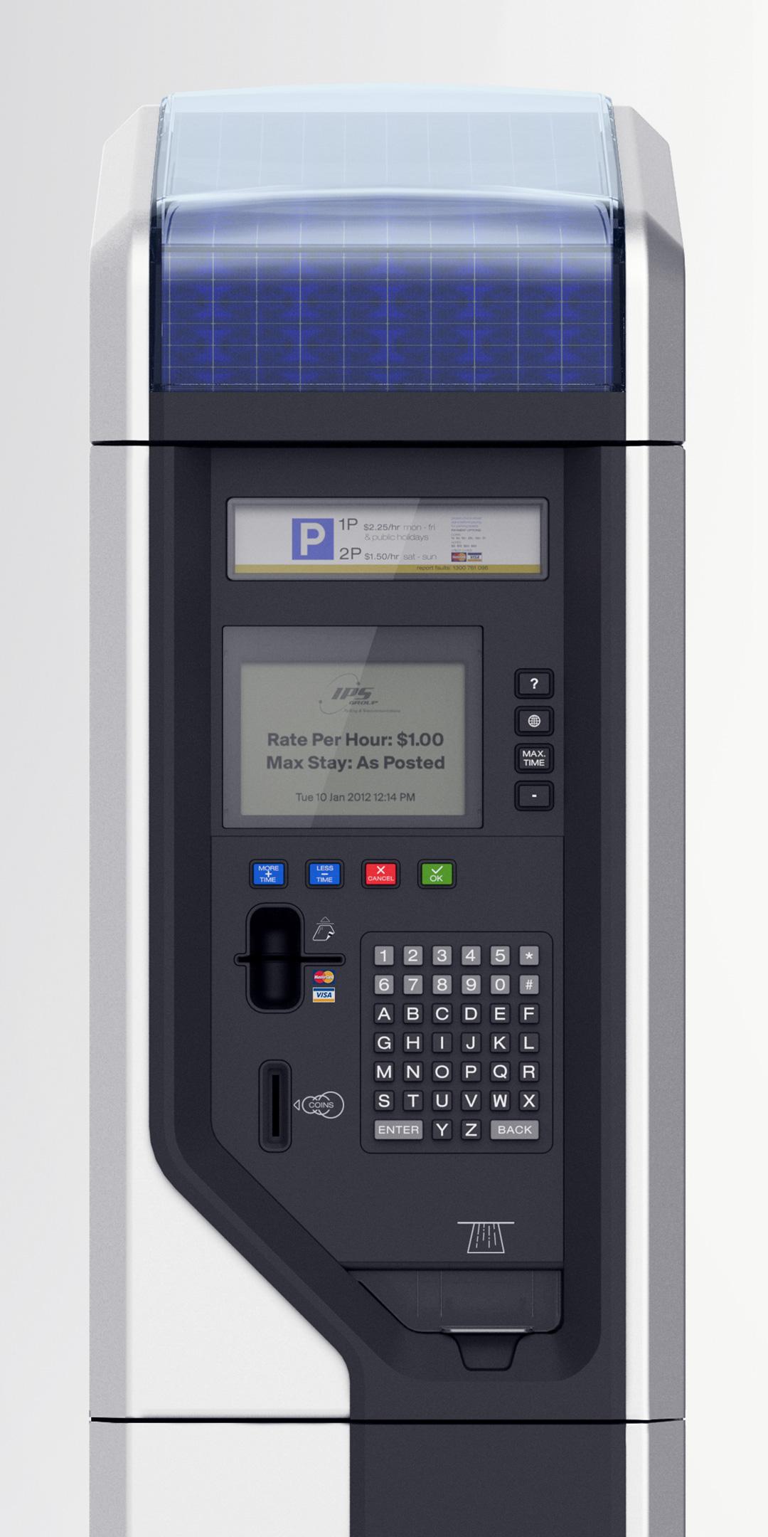 IPS Group - multi bay parking meter