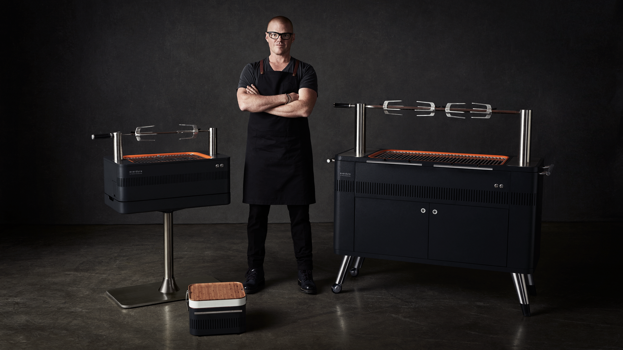 Everdure by Heston Blumenthal Charcoal Barbeque Range