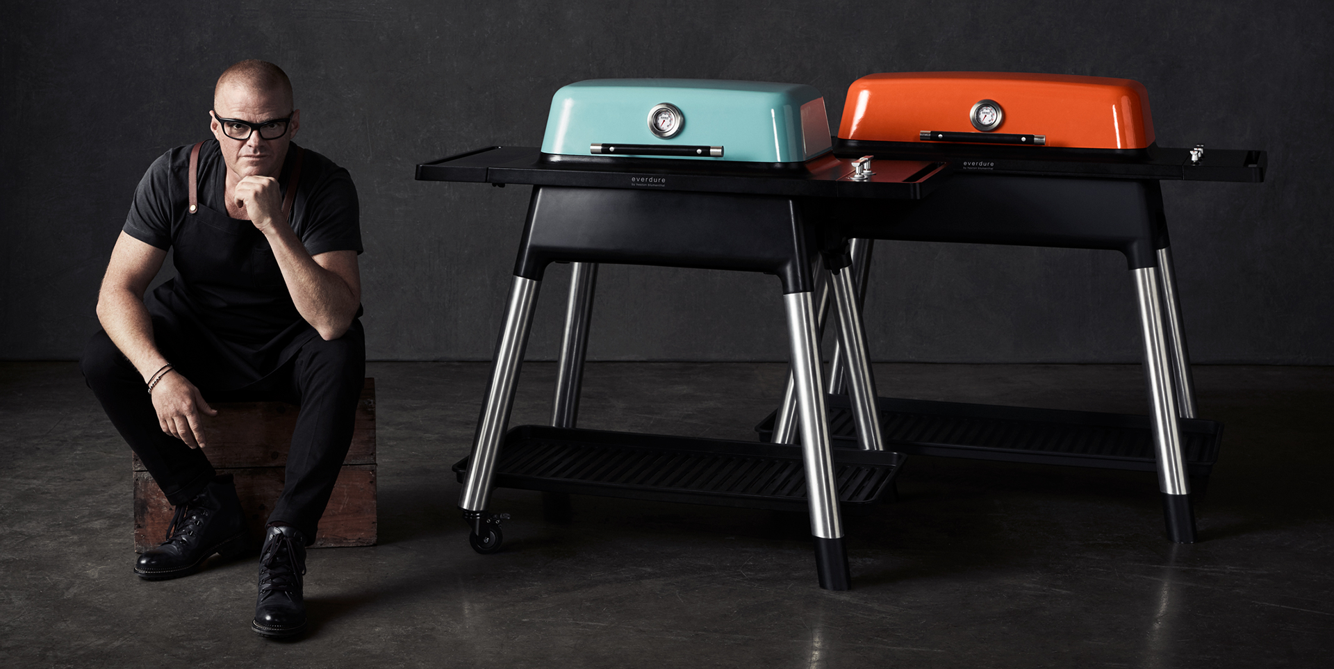 Everdure By Heston Blumenthal FURNACE and FORCE barbeques