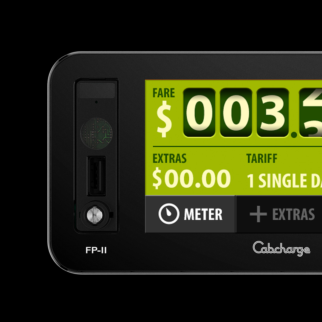 Cabcharge - taxi meter