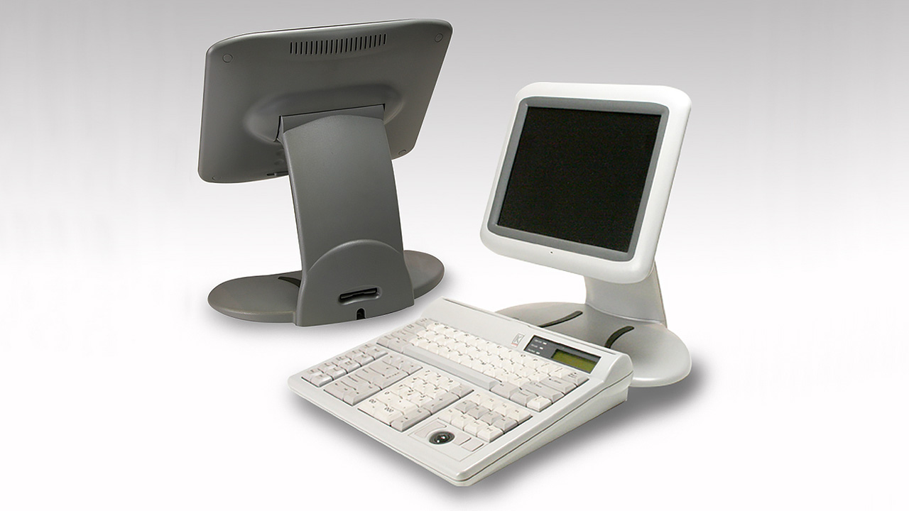 Keycorp — Teller Workstation and Flatscreen (1994)