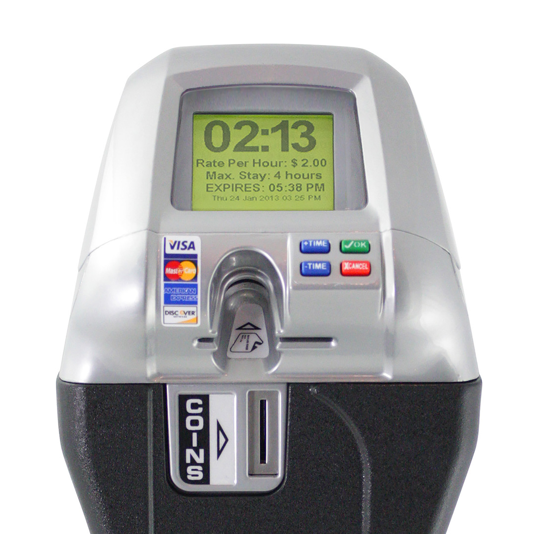 IPS Group - Single Bay Parking Meter