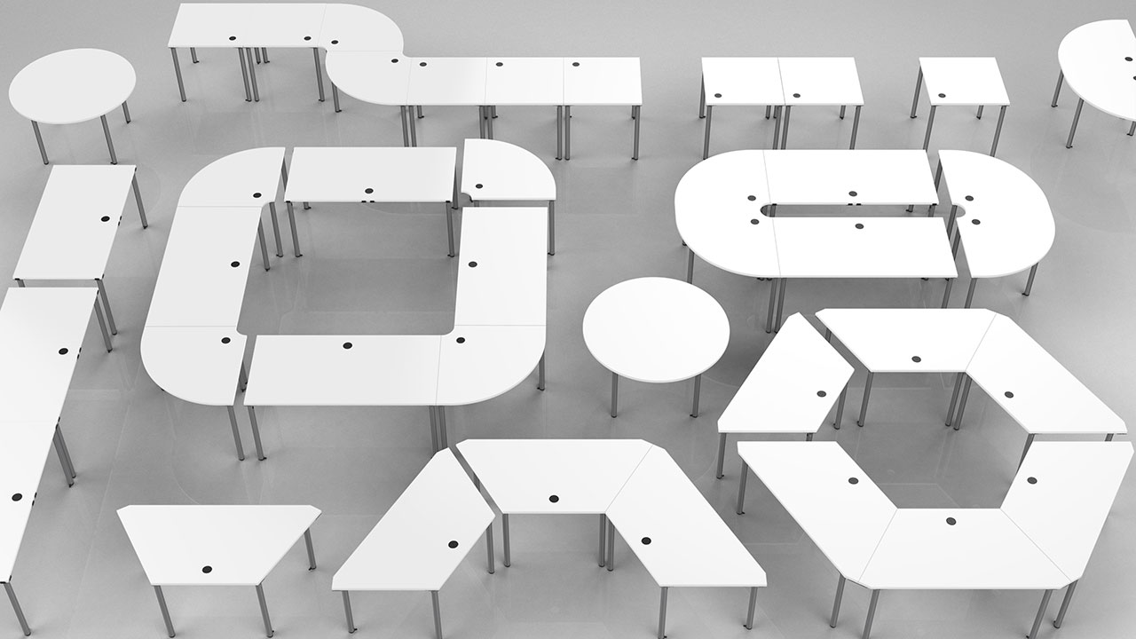 BCG Design Group — Seminar Desks (2017)