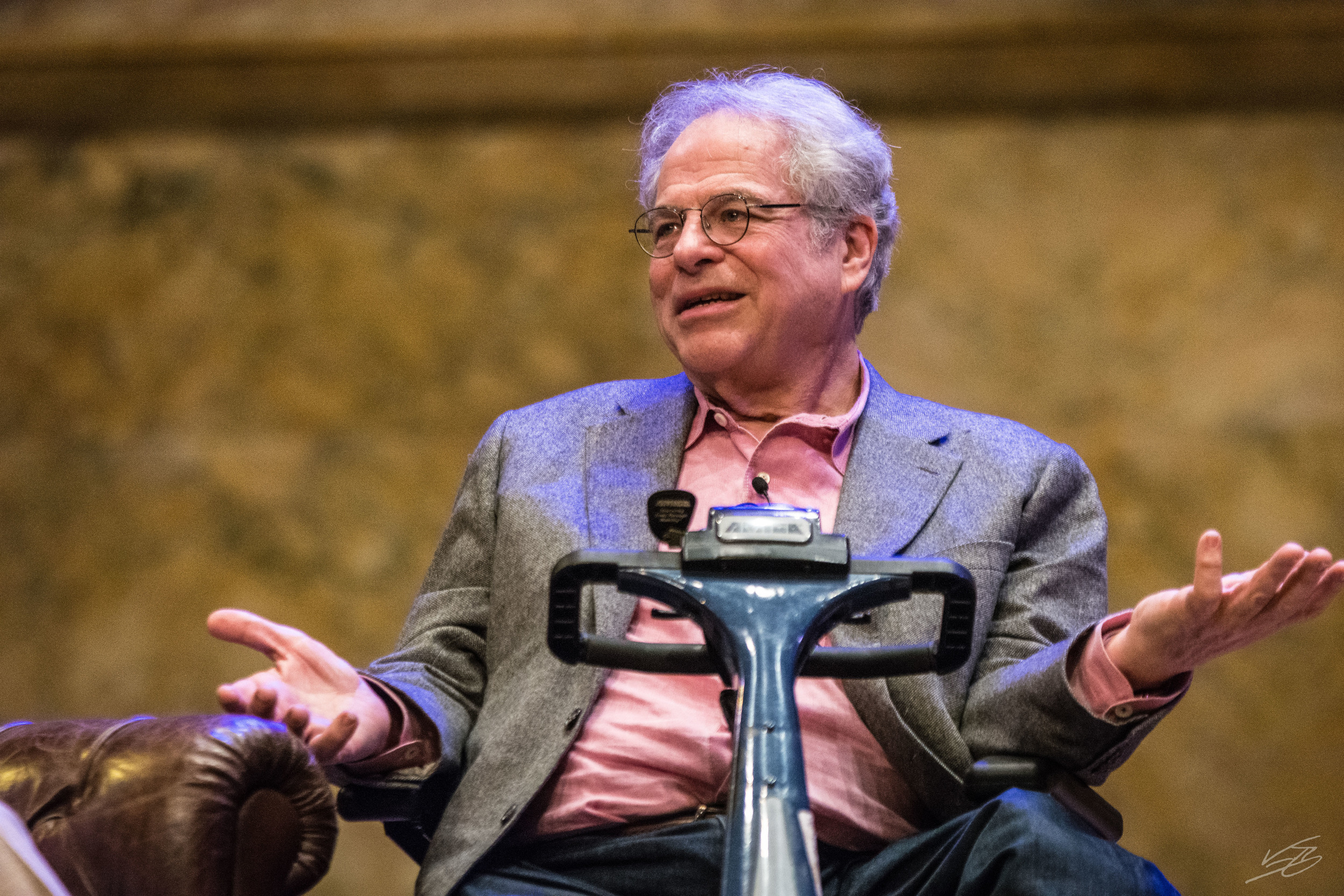 "Itzhak Perlman: ""My Goal is Not to be Bored by What I Do"""
