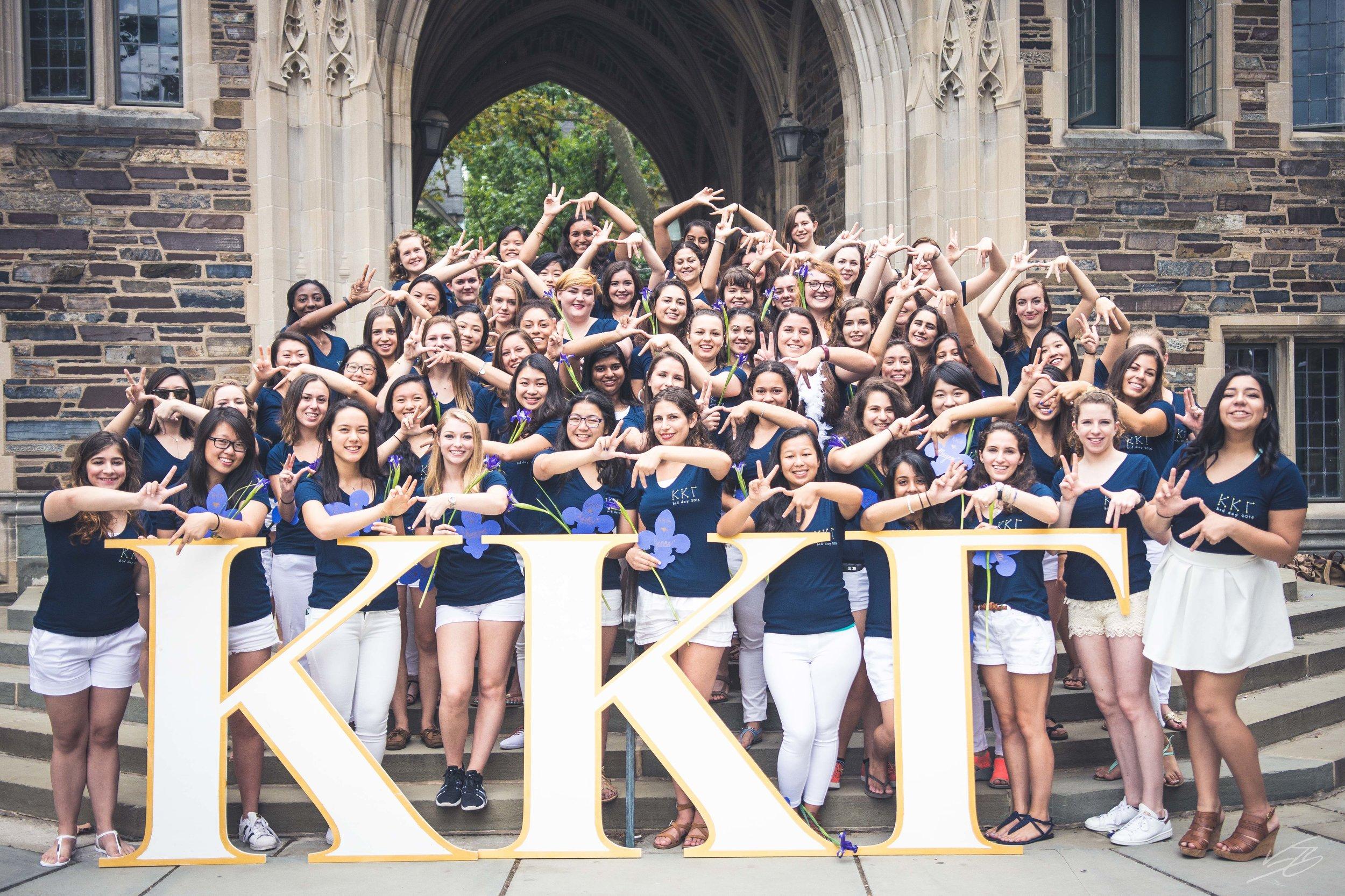 Kappa Kappa Gamma Bid Day 2016