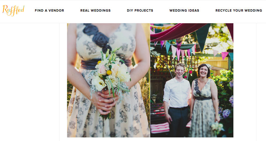 Ruffled (Cathy & Brent) - http://ruffledblog.com/whimsical-backyard-wedding/