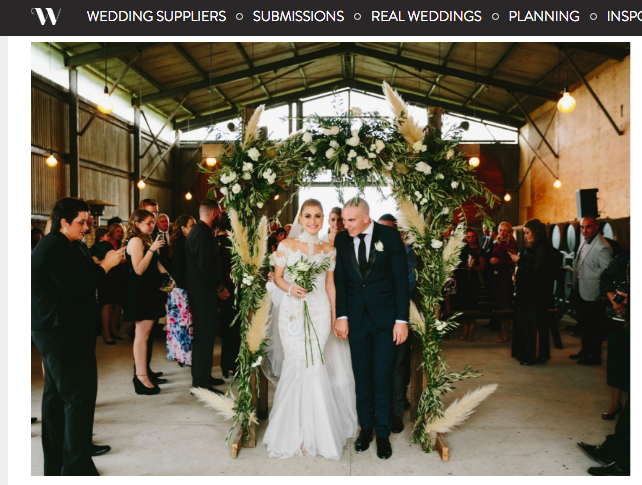 Wedded Wonderland (Antonette & Cameron) - http://www.weddedwonderland.com/a-chic-melbourne-wedding/