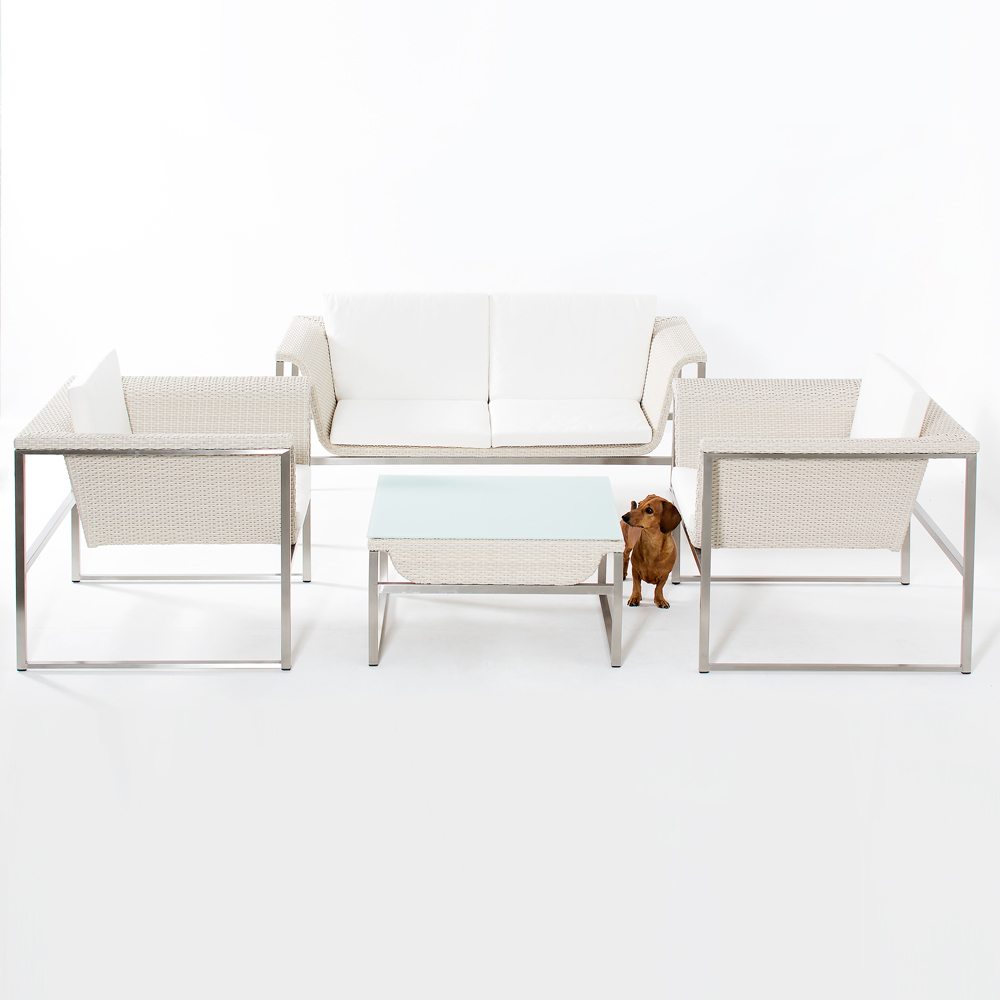 Zora White Lounge