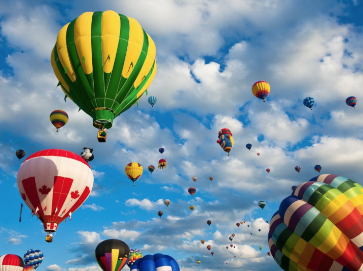 What do you want to carry with you in your balloon? What are you ready to let go of?