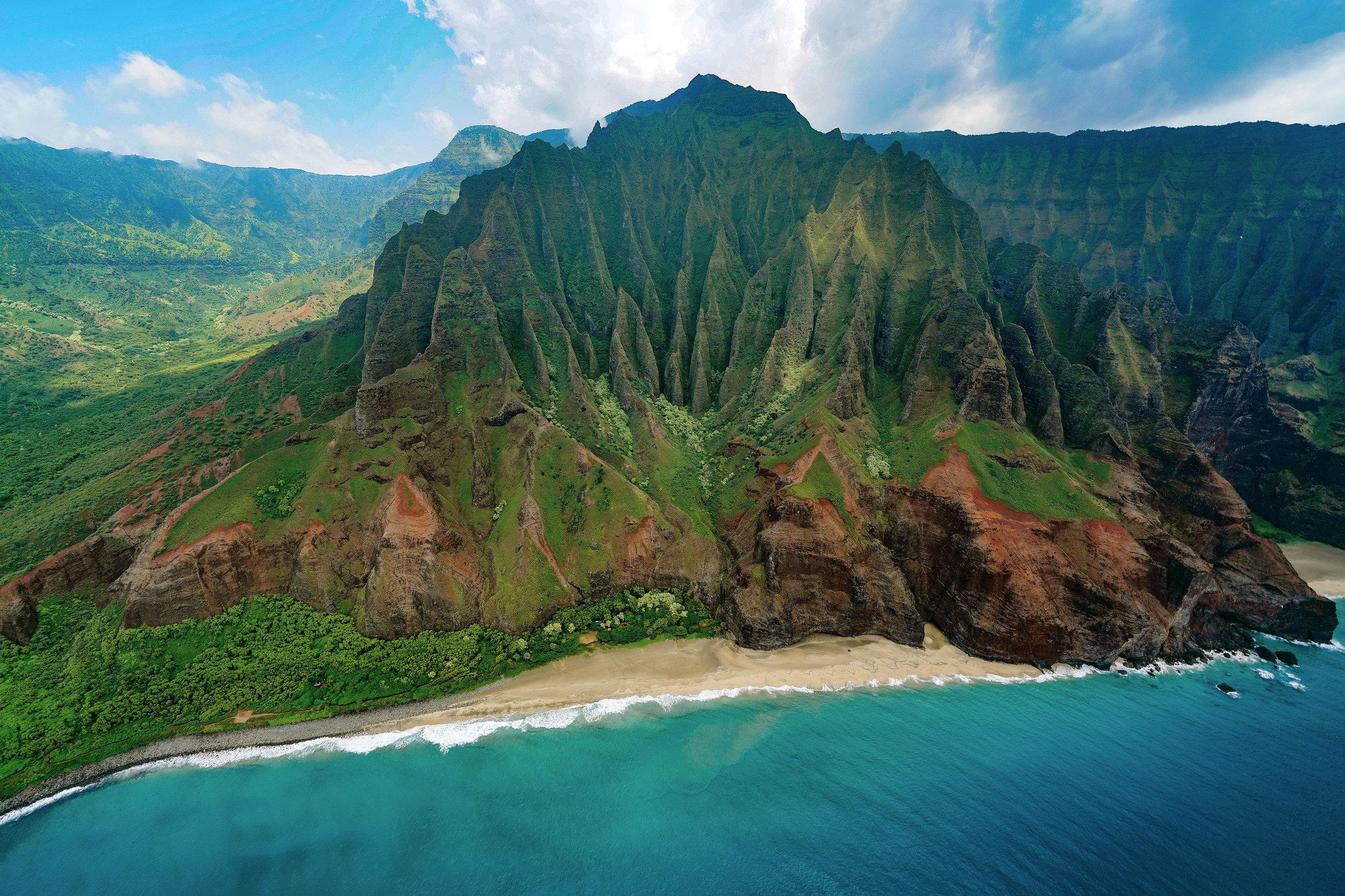 Kalalau Beach, Kauai, HI