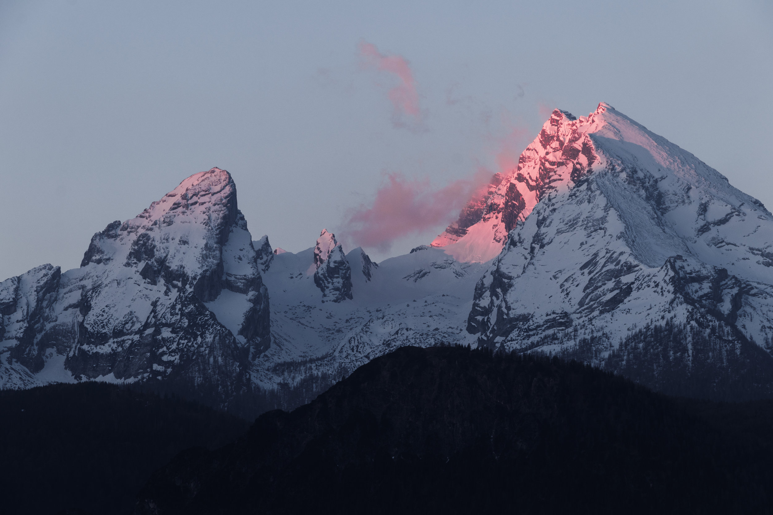 "The massiveness of the mountain in this image - bearing the blanket of snow as spectacular hues from the sun reflect its body - evokes a sense of impenetrable and immovable strength and stature. A mountain's quiet, resolute immensity leaves us in awe and inspires us to reach for greater heights. Yet, it can also pose challenges.  The firm base of the mountain evolves to the narrower crest in its attempt to reach the sky. More daring individuals become enamoured by the peak and see it as something to conquer, although it can never truly be conquered. When the mountain feels threatened in some way or simply shrugs its shoulders, the strength exhibited can wreak havoc for all beings caught on its skin.    It makes no sense to deny the strength you have at the cost of allowing yourself to be reactive and subject to external influences far beyond what is healthy for you. Imagine yourself as a mountain of strength, solidly ground in the Earth, your head held high as if you were touching the sky. Do so without straining, just as the mountain itself does not strain.   - ""  Mountain Strength"" from Earth Magic Oracle Cards by Steven D. Farmer, PH.D"