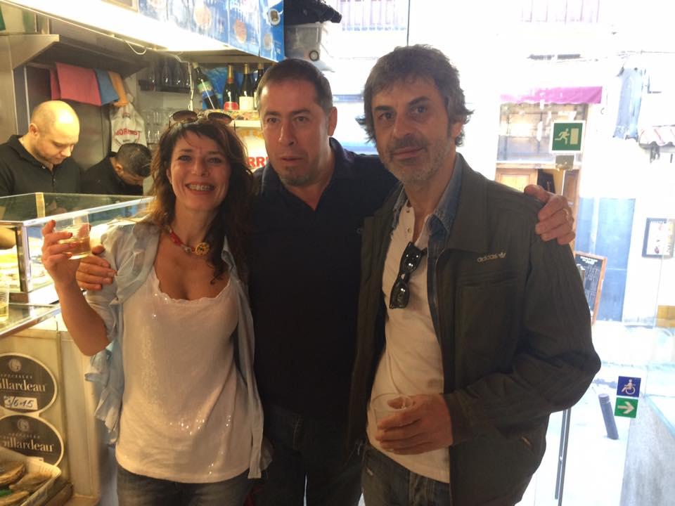 Roberta, Morris and Mariano