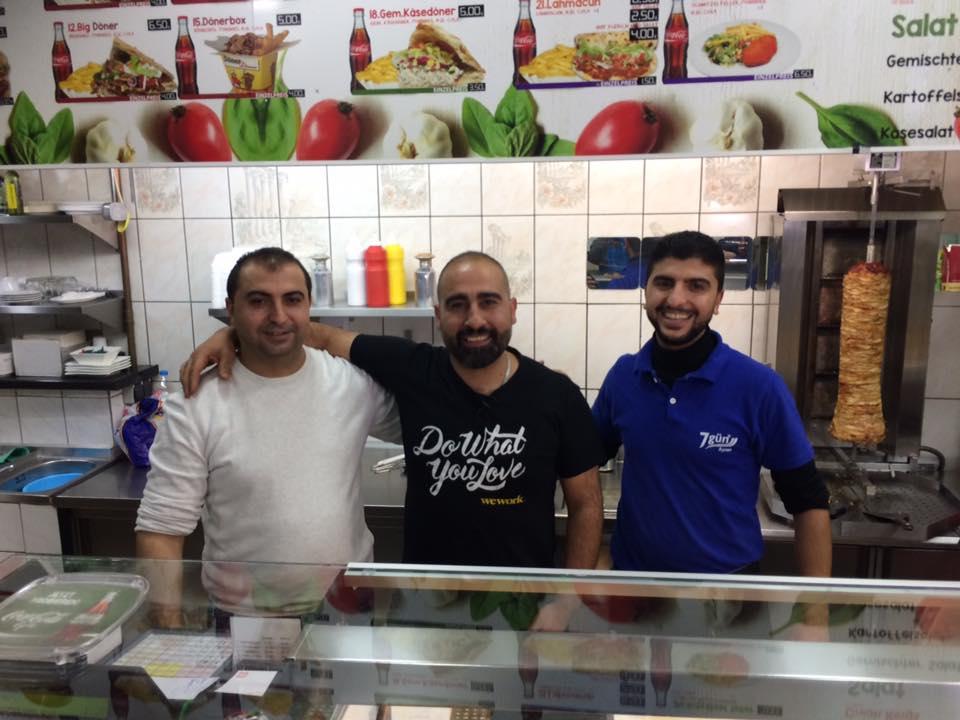 Ahmet, Arif and Kadir