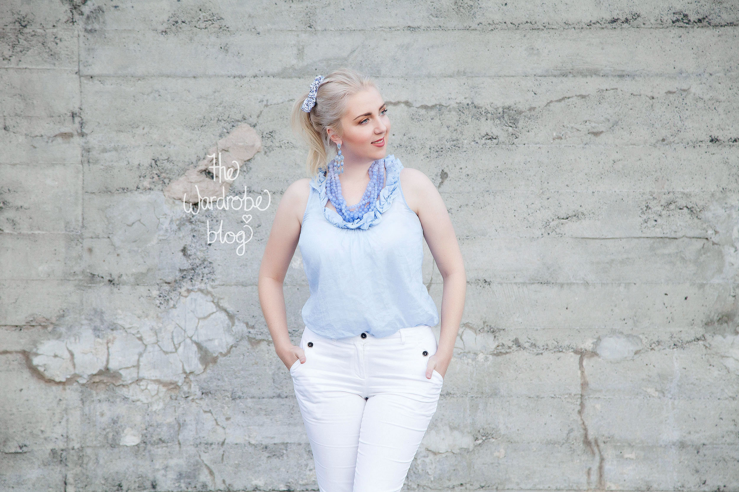Chinos + Top from Sussan, Necklace + Earrings from Lovisa Jewellery.